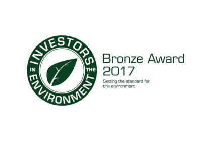 Investors in the Environment - Bronze Award 2017