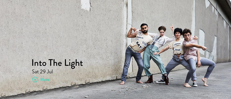 Into The Light for LGBT50 © David Lindsay