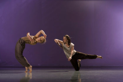 Laura Murphy (right) at Nortern School of Contemporary Dance © Chris Nash
