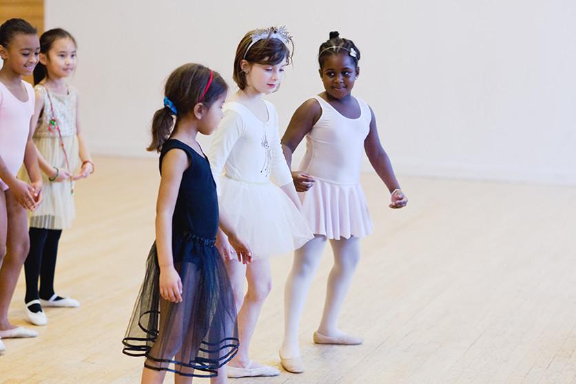 Saturday Superstars - Ballet 6-9 sharing - Dec 2015 © Yorkshire Dance
