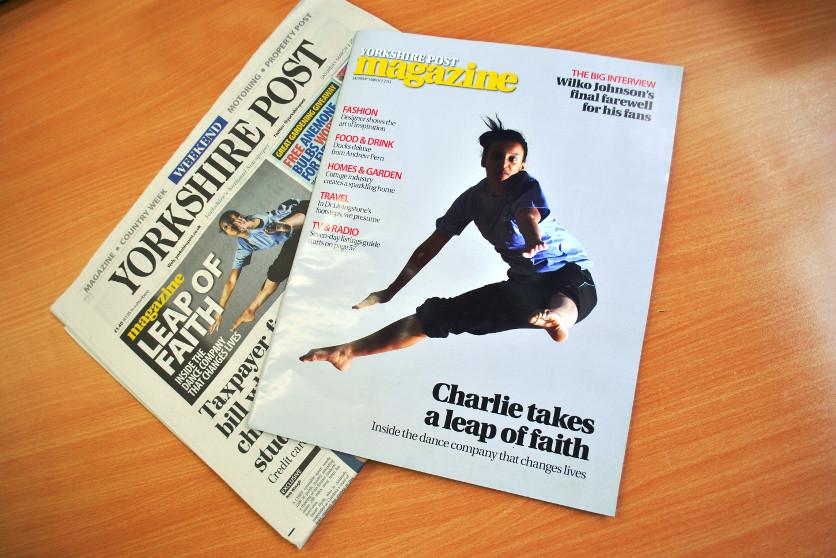 Charlie Buchanan in Yorkshire Post - Sat 2 Mar 2013