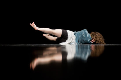 Crystal Zillwood - Sleep - Friday Firsts at Yorkshire Dance © Sara Teresa