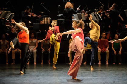 In-Nocentes, National Youth Dance Theatre, Sadler's Wells, London, Britain. 7th Apr 2016 © Jane Hobson