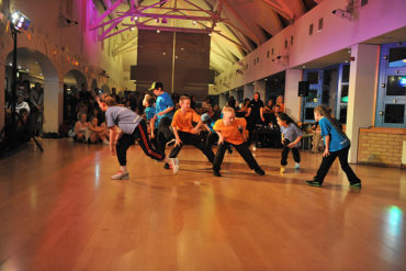Yorkshire Dance Youth Juniors at Fresh © Brian Slater