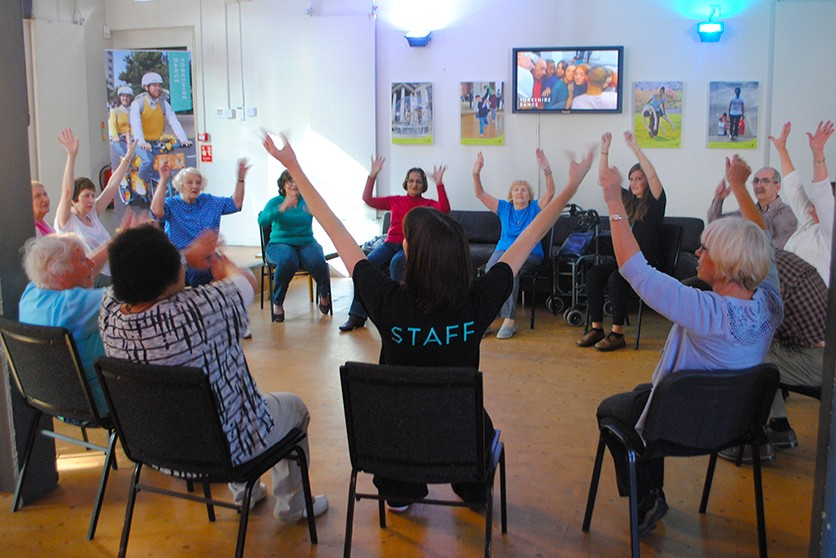 Active Ageing - launch day class - 5 Oct 2017 © Yorkshire Dance (6)