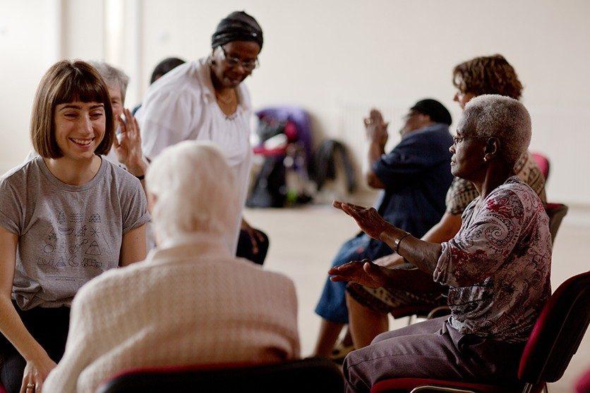 Dance Transports - Dance for Parkinson's © Sara Teresa