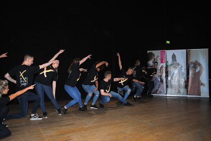 Leeds City College's Explosive performing at Dance Creates Conference © Yorkshire Dance