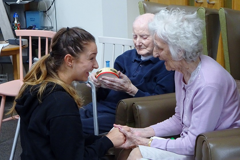 Simon Marks Care Home © Yorkshire Dance
