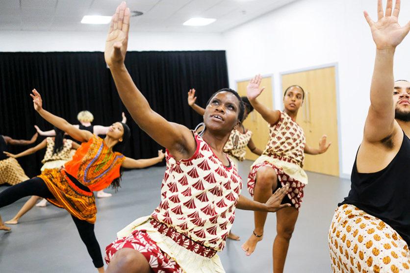 kweku ananse rehearsals-79. Photo by Tony Bartholomew