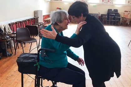 Betty and Janet at Dancing in Time, 2018 © Yorkshire Dance