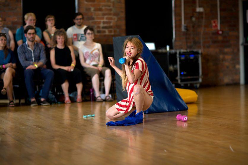 Performing Gender Sharing - Jija Sohn - 1 Jun 2018 © Sara Teresa