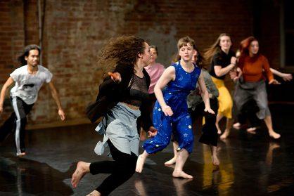 Performing Gender sharing at Yorkshire Dance - 26 Oct 2018 © Sara Teresa