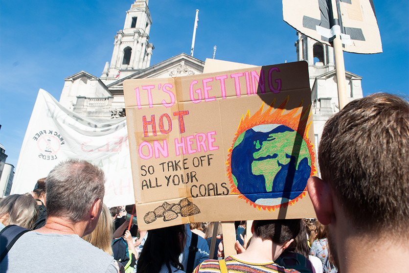 Yorkshire Dance on Climate Strike. Photo by Shamima Noor