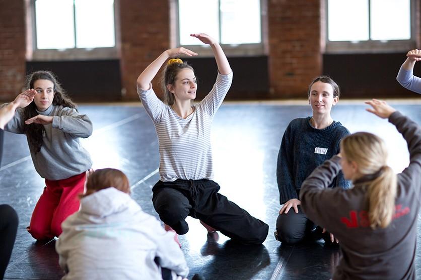 Dance Transports March 2020. Image: Sara Teresa