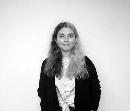 Josephine staff photo black and white